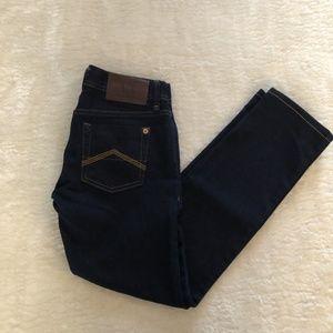 Armani Exchange Dark Wash Cropped Jeans